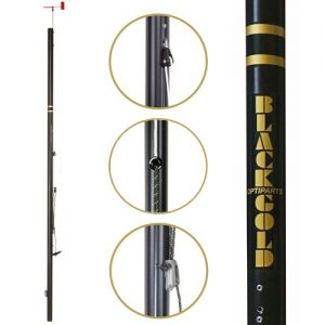 Optiparts Blacklite Race Mast