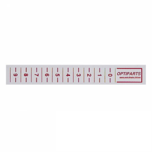 Optiparts Trimstrips Rood Per 20